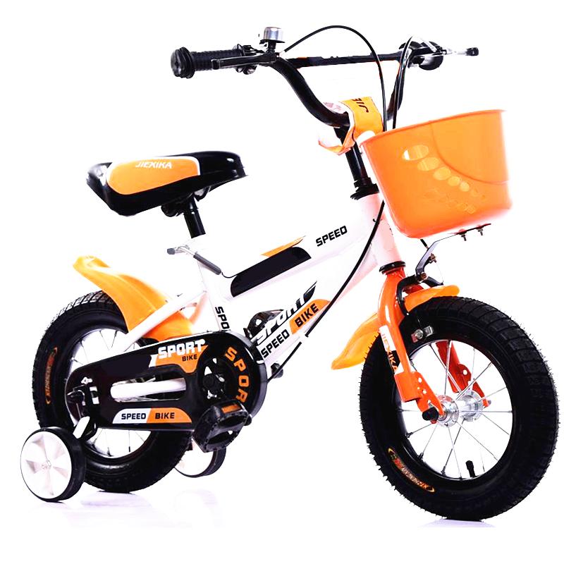Kids Bike 14 Inch Wheel Size Orange White Singapore Online Kids