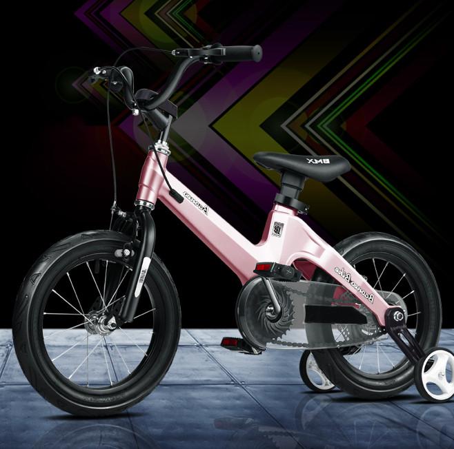 Magnesium Alloy Pink Frame - Kids bike 16 inch wheel size ...