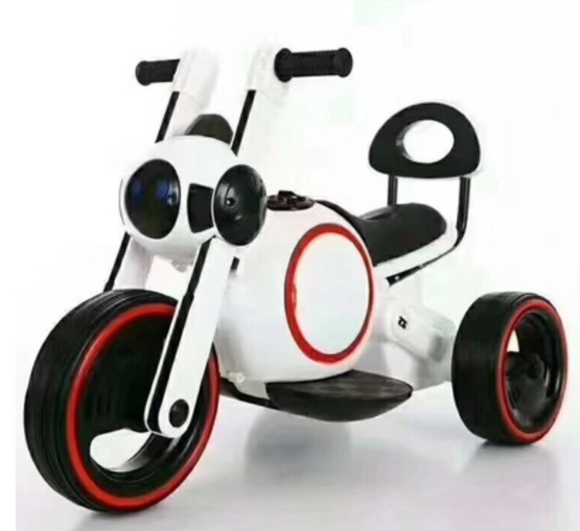 Kids electric bike (white) - 2 yrs old - Singapore online